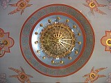 Chandalier and Cupola
